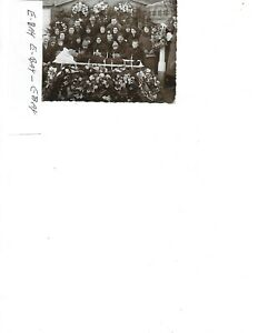 POST CARD,HOUSE FUNERAL,BLACK & WHITE,ABT. 1900'S
