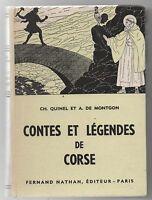 Contes et Légendes de CORSE.  Nathan 1960. Très bel état.