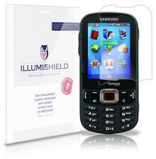iLLumiShield Anti-Bubble/Print Screen Protector 3x for Samsung Intensity 3