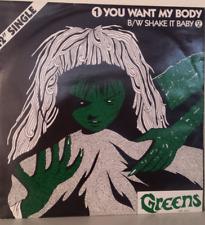 "The Greens > YOU WANT MY BODY / SHAKE ME BABY  > 12"" SINGLE > 1984 > RAR"
