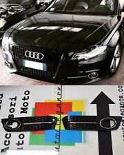 GRIGLIE FENDINEBBIA NERE DETTAGLI CROMATI AUDI A4 B8 2008-2012 DESIGN RS4 S4