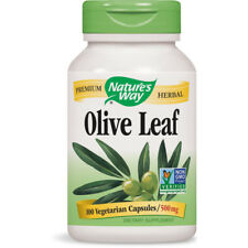Nature's Way - Olive Leaf Olea Europea 470 mg Dietary Supplement - 100 Capsules