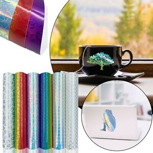 Permanent Self-Adhesive Vinyl Pack Mixed Colorful Holographic Craft Vinyl Plotte
