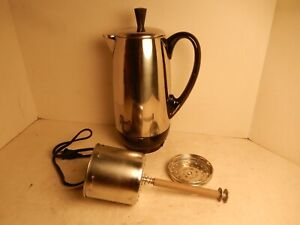 Farberware Superfast Fully Automatic 12 Cup Coffee Percolator Model 142UW Works