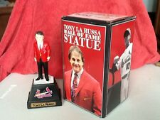 Tony La Russa Hall of Fame statue - in box approx 8 inches tall