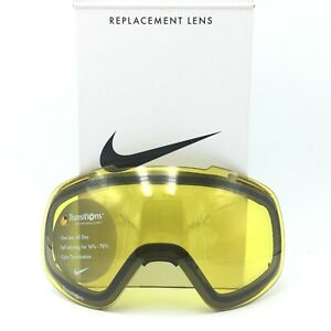 Nike Khyber Transitions Yellow Ski Snowboard Replacement Lens