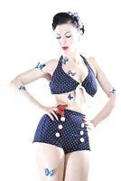 SugarShock Pin Up retro Polka Dots Bikini Rockabilly