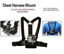 GoPro Hero Chest Strap Harness Mount Camera Body Holder HD 1 2 3 3+4 5 Hero+ LCD