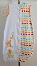 The Gro Co Polka Dot Elephant Giraffe Baby Grobag Sleeping Sack 6-18 mth 1.0 Tog