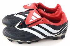 Adidas Rare Mens Predator Karnivor 2 TRX FG Soccer Cleat Black Red Size 7 US
