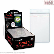 """Ultra Pro - Resealable 7"""" x 10"""" Ultra Clear Archival Safe COMIC PRESERVERS x 100"""