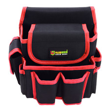 Tool Belt Maintenance and Electrician's Pouch with Pockets for Tools, Flashlight