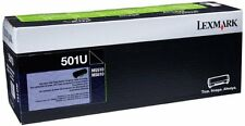 Lexmark 501U Black 50F1U00 Ultra High Yield Cartridge for MS510 MS610 20K pages