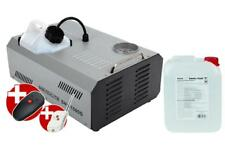 1500W DMX VERTIKAL NEBELMASCHINE DISCO NEBEL EFFEKT FOG MACHINE 5 L FLUID SET