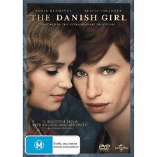 THE DANISH GIRL-Eddie Redmayne, Alicia Vikander-Region 4-New AND Sealed