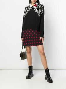 Red Valentino Distressed Wing Sweater..SZ M...NWT