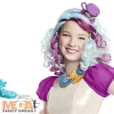 Maddeline CAPPELLAIO Parrucca Ragazze FANCY DRESS Ever After High Kids Costume Accessorio
