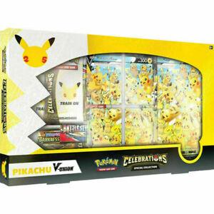 Pokemon TCG Celebrations Special Collection Pikachu V Union Box sealed ship 10-8