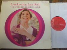 SER 5603/8 Bach The Well-Tempered Clavier / Landowska 6 LP box