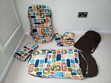 Bugaboo Paul Frank 5 piezas de este conjunto-saco, cubierta, manta, Asiento Forro, Lona