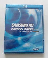 Samsung HD Reference Software 1st Edition Blu Ray Disc High Quality Process RGB