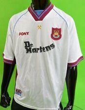 # 1998-1999 Pony West Ham United Centenario MARTELLI Dr. Martens AWAY SHIRT/XL