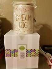 """SCENTSY WARMER NEW """"DREAM SPARKLE""""  MUST SEE- SHIPS FREE PRIORITY"""