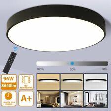 96W LED Deckenlampe Ø60CM Deckenleuchte Wohnzimmer Lampe Dimmbar Modell MIT FB