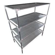 4 Tiers Metal Adjustable Shoes Shelf Rack Stand Organizer Storage Boot Holder