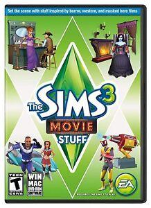 The Sims 3 Movie Stuff PC / Mac DVD-ROM Brand New Factory Sealed