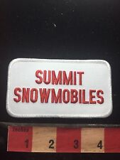 SUMMIT SNOWMOBILES Patch - Snow Transportation C76P