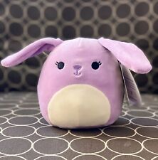 "NWT Squishmallows 5"" Purple Bunny Rabbit Bubbles Easter 2020 Kellytoy Plush NEW"