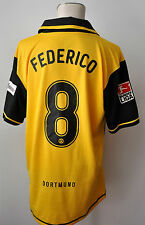 2007-08 Borussia Dortmund BVB Trikot #8 Federico Gr. XL Nike Patch Kult CL