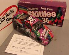 1998 Ernie Irvan Skittles Wild Berry 1/24 Action NASCAR Diecast Autographed