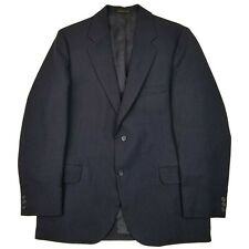 Vintage Blazer sz-42R Mens Town Country Anderson Little Blue Pinstriped USA