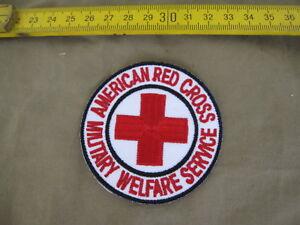 American Red Cross Military Welfare Service Patch Wac Wasp Marines Usmc Vietnam