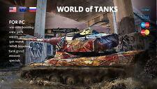World Of Tanks (WOT) SPECIAL CUSTOM ORDER |NOT BONUS CODE