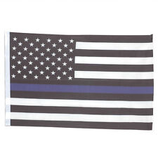 SMF Small 12 Inch X 20 Inch Replacement Flag For Whip Antenna Thin Blue Line