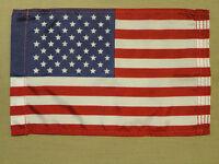 "United States U.S. Indoor Outdoor Dyed Nylon Motorcycle Flag Pole Sleeve 8""X12"""