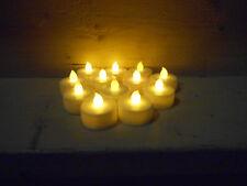 24x LED Teelichter Teelicht elektrische Kerze flackernd mit Aufbewahrungsbox