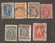 1886 - 1911 GREECE STAMPS USED  SEE SCAN FOR BACK AND FRONT