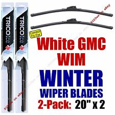 WINTER Wiper Blades 2pk Premium fit 1991-1994 White GMC WIM - 35200x2