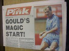 15/08/1992 COVENTRY evening Telegraph il rosa: principali titolo recita: Gould'S MAG