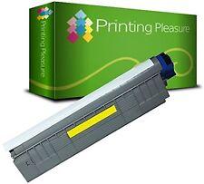 1 Yellow Toner Cartridge C8600 Replace for OKI C8600 C8800 Printer