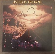 Jackson Brown Signed Autographed Running On Empty Album Vinyl