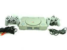 Sony Play Station PS1 SCPH-5501 PS1 Console w Power Cord & Output 2 Controllers