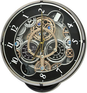 Rhythm Clocks Gadget Musical Wall Clock (4MH886WD02)