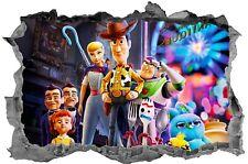 Toy Story,Sticker,3D,Bedroom,Decal,Kids,Wall Art,Mural
