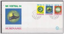 Surinam / Suriname 1994 FDC 174 Voetbal soccer fussball footbal