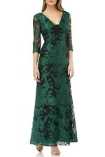 JS Collections Embroidered Lace Gown ( Size 8 )